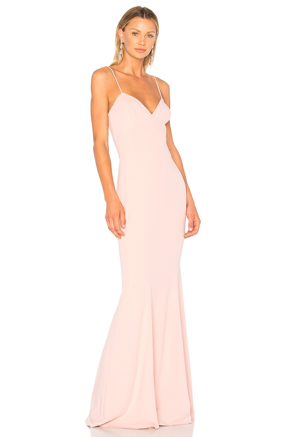 Katie May Luna Gown in Dusty Rose
