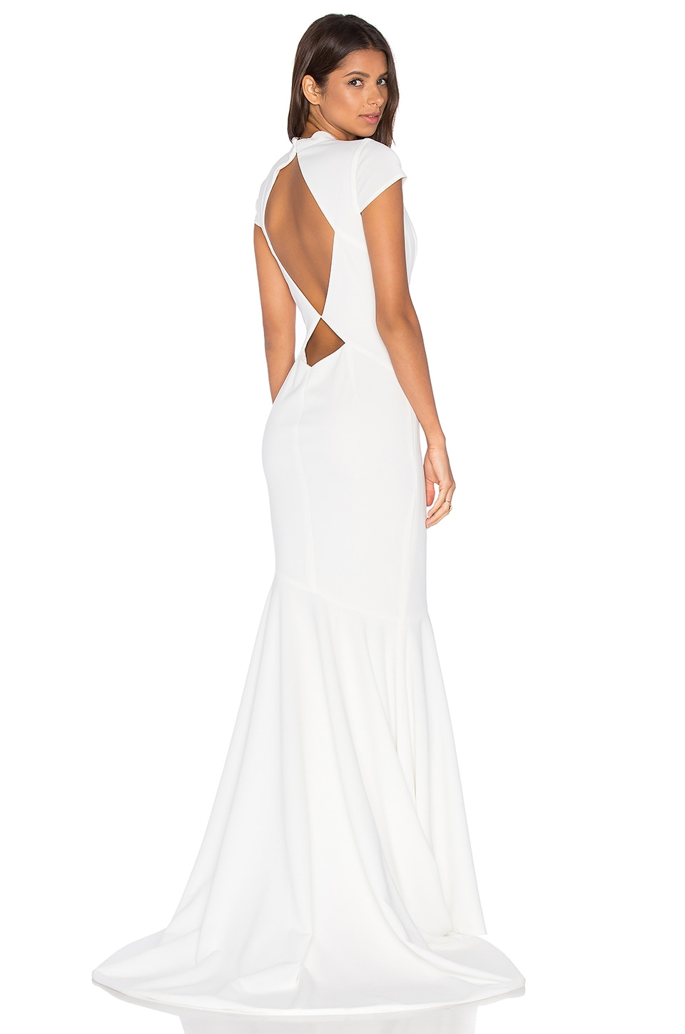 Intrigue Gown in Ivory. - size 2 (also in 0,4,6) Katie May