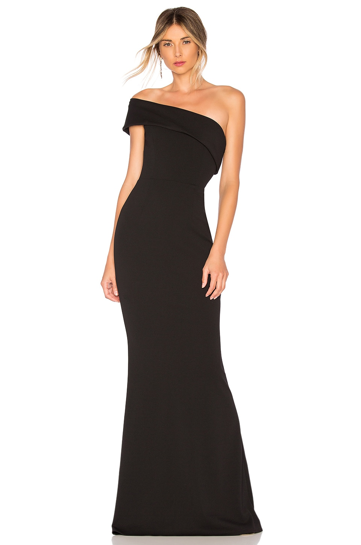 Katie May Titan Gown in Black