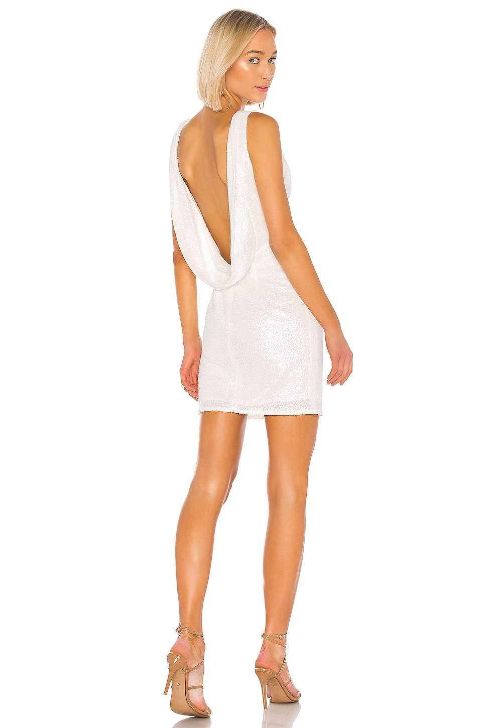 Katie May Sparkle Dress in Ivory