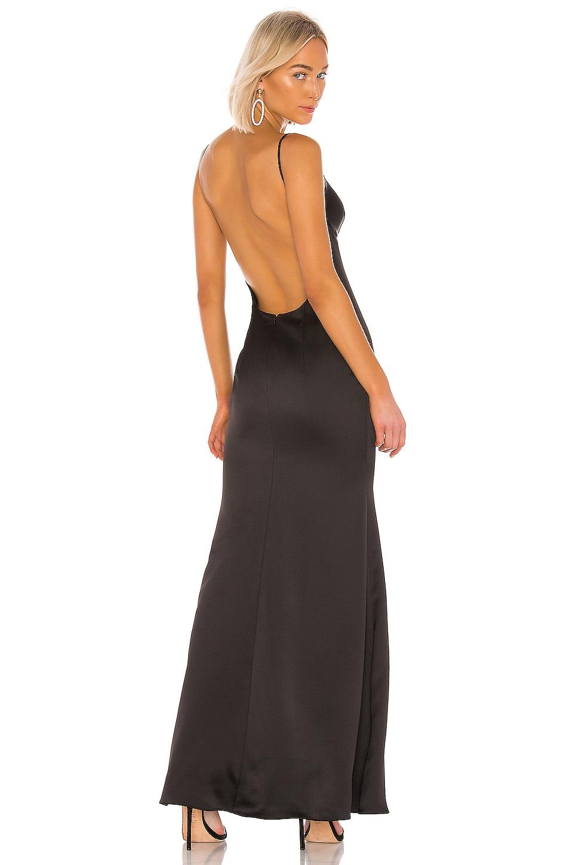 Katie May Ariel Gown in Black