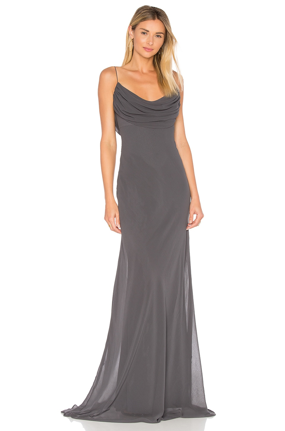 Katie May Eden Gown in Charcoal