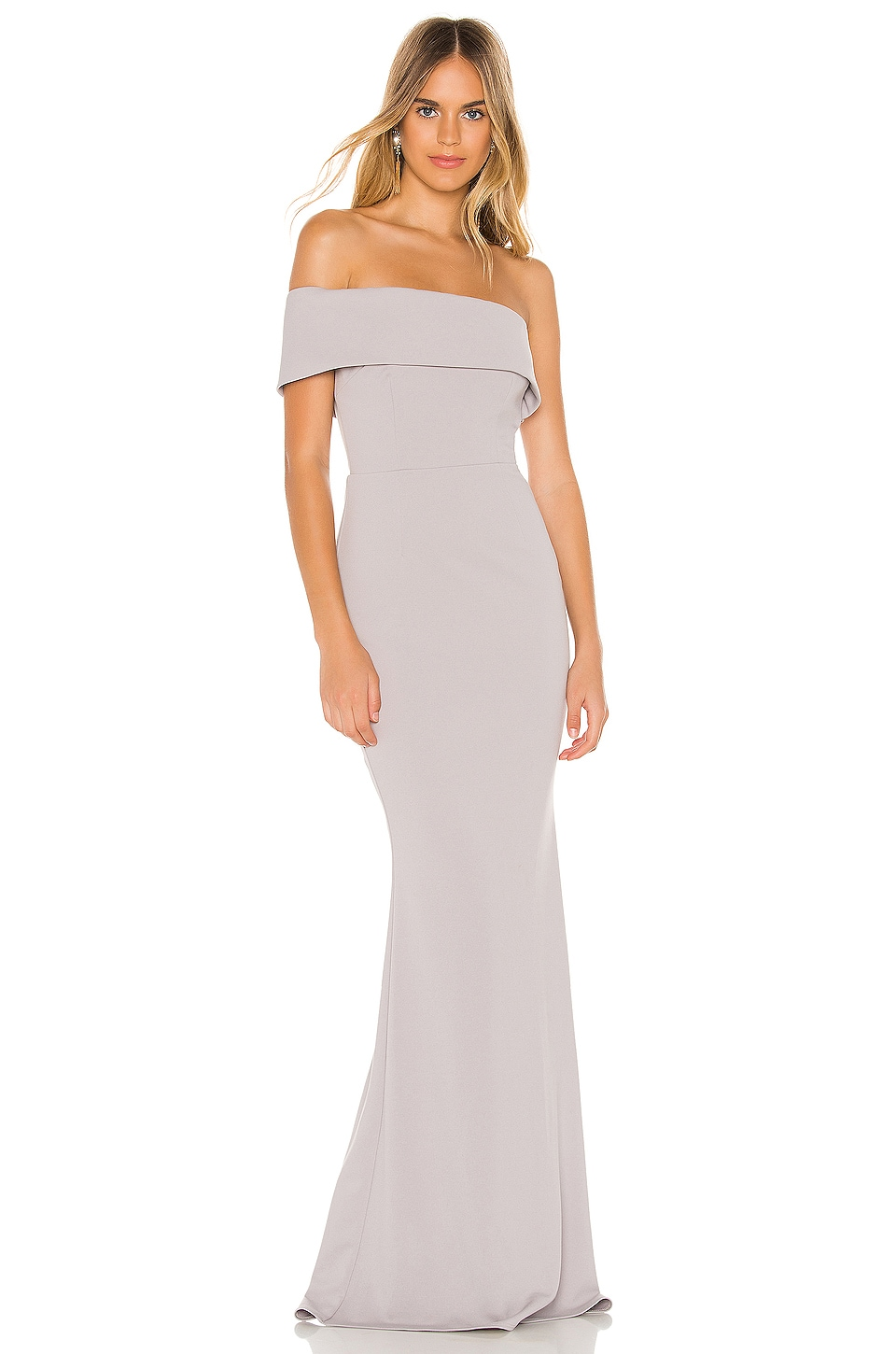 Katie May Titan Gown in Dove