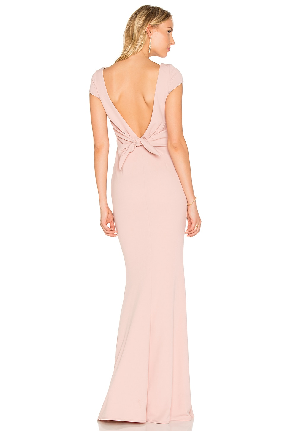 Katie May Intrigue Gown in Dusty Rose