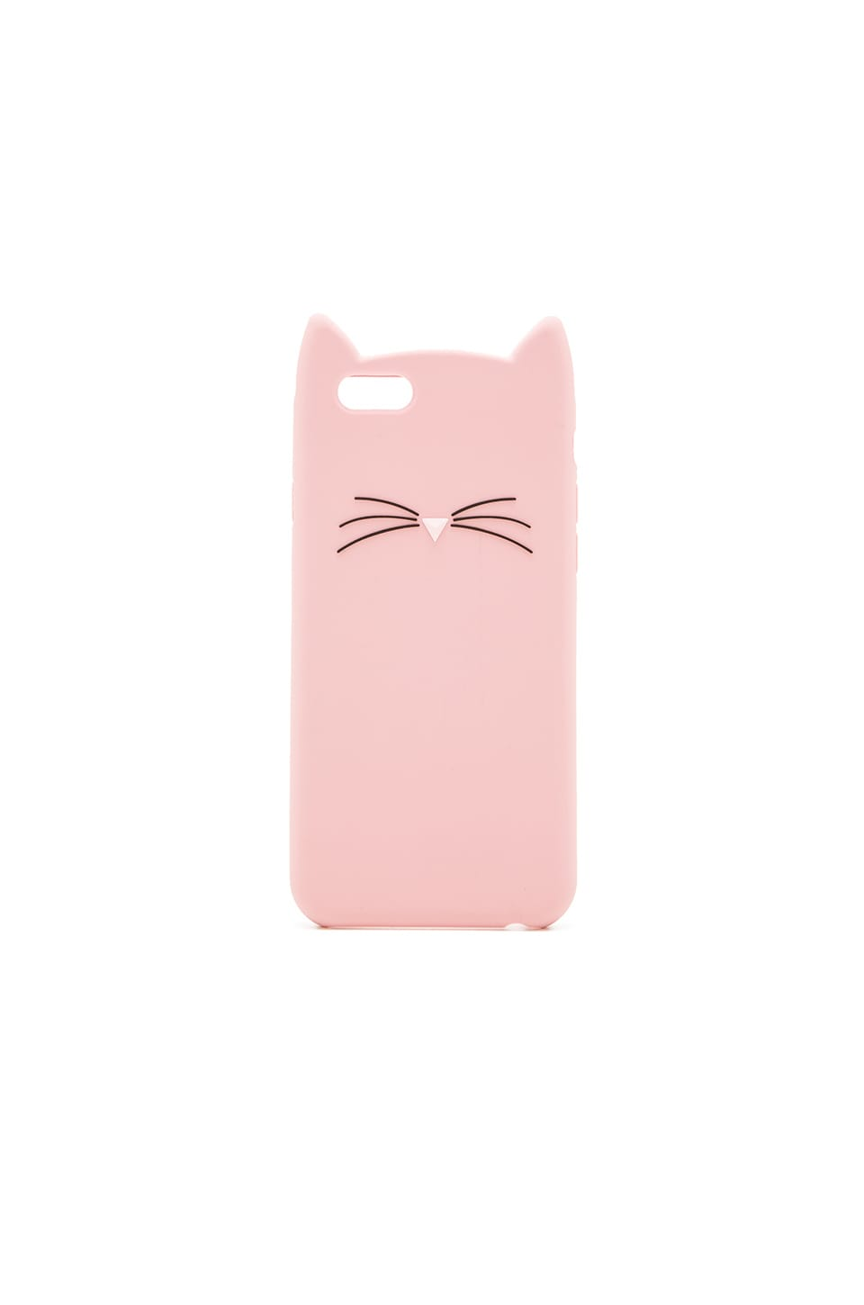 kate spade new york Silicone Cat iPhone 6 Case in Dusty Jade