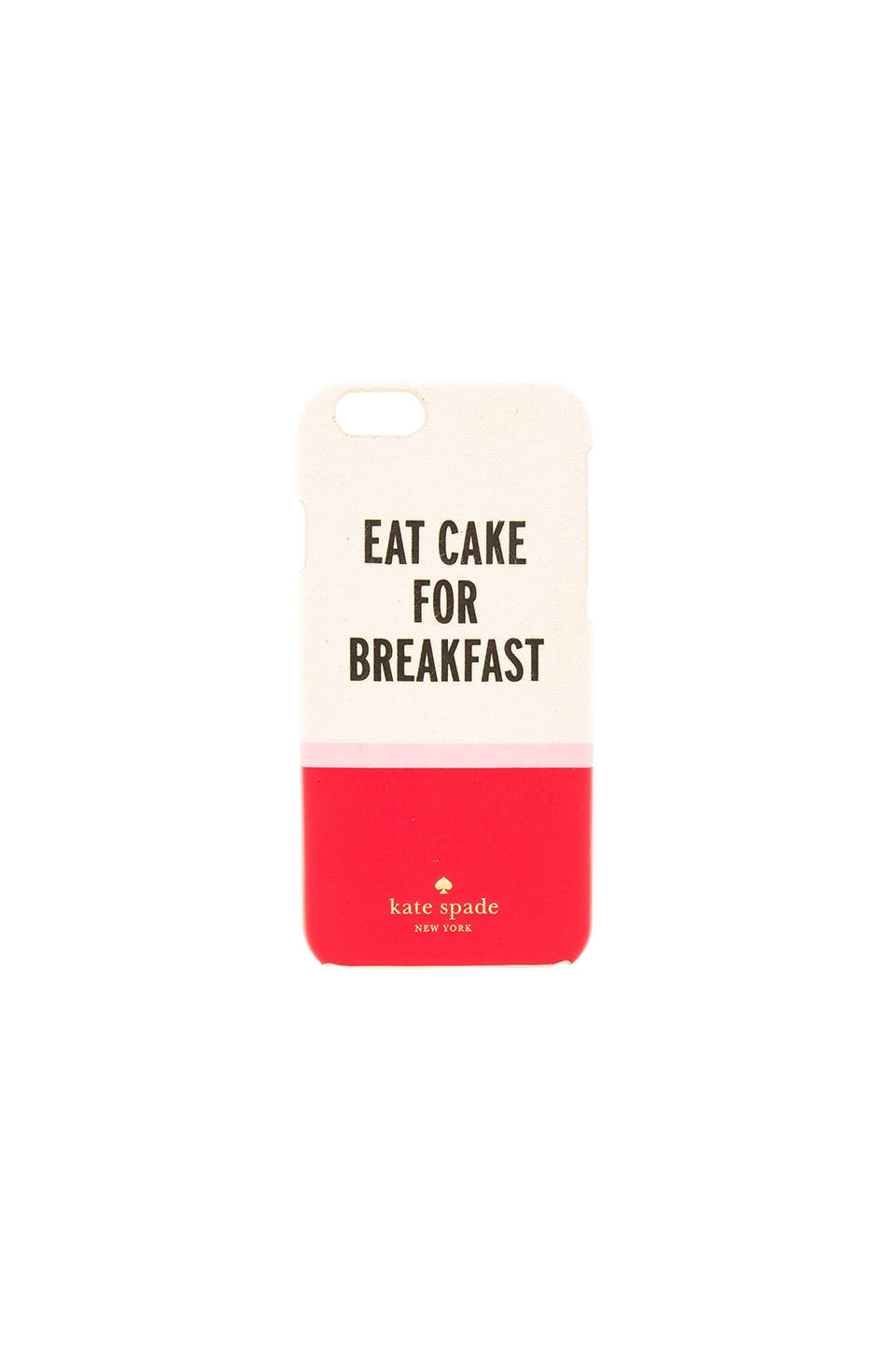 kate spade new york Eat Cake For Breakfast iPhone 6 Case in Multi