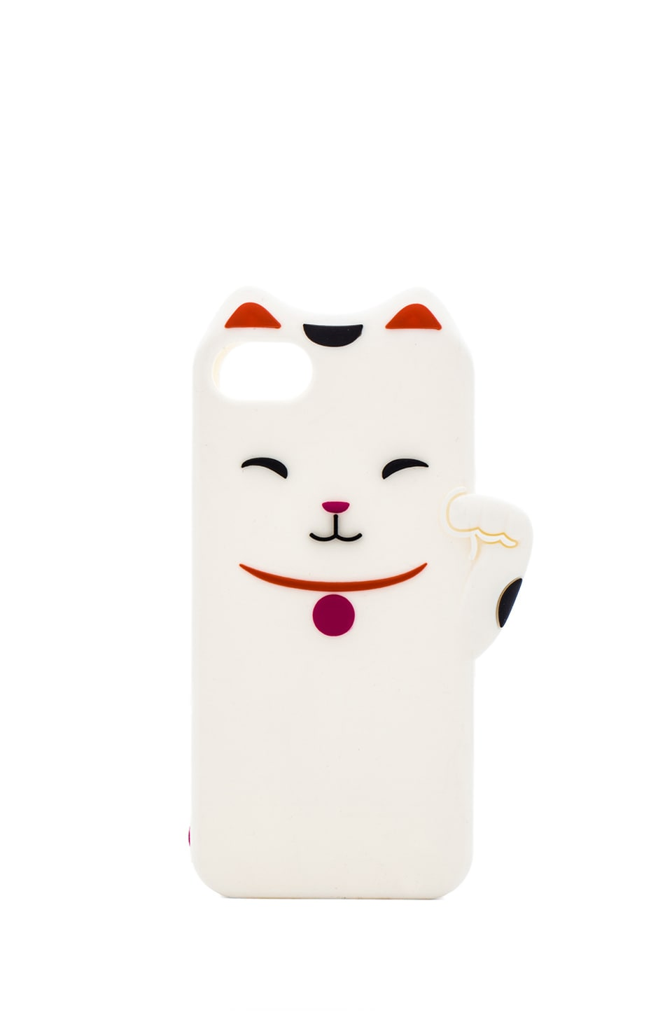 kate spade new york Cat iPhone 5 Case in Cream