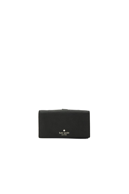 kate spade new york Crossbody Phone Case в цвете Черный