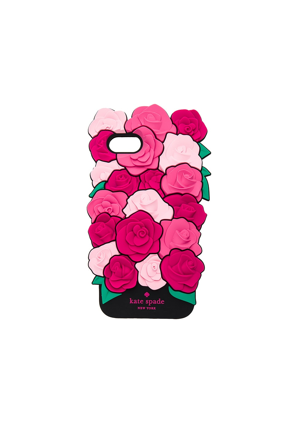 kate spade new york Silicone Roses iPhone 7 Case in Pink Multi