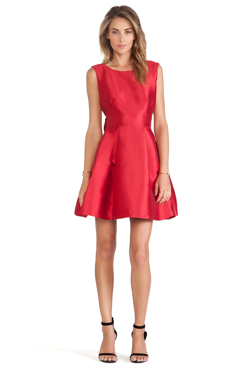 kate spade new york Backless Bow Mini Dress in Red  REVOLVE