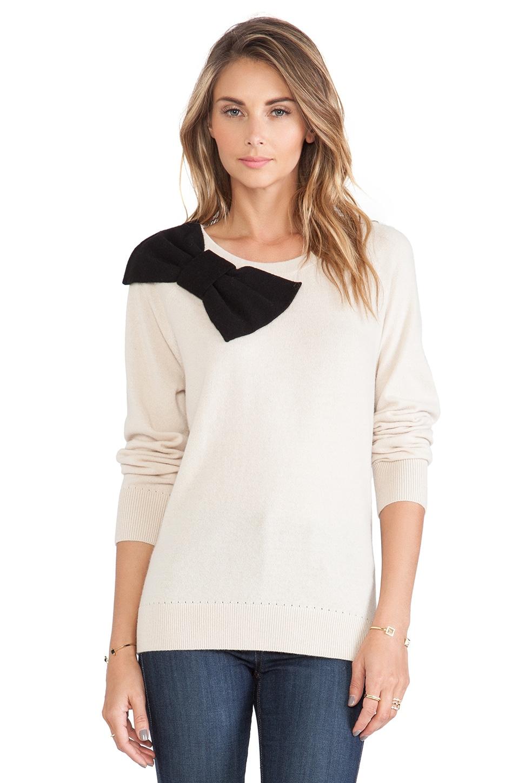 kate spade new york Slouchy Raglan Sweater in Deco Beige