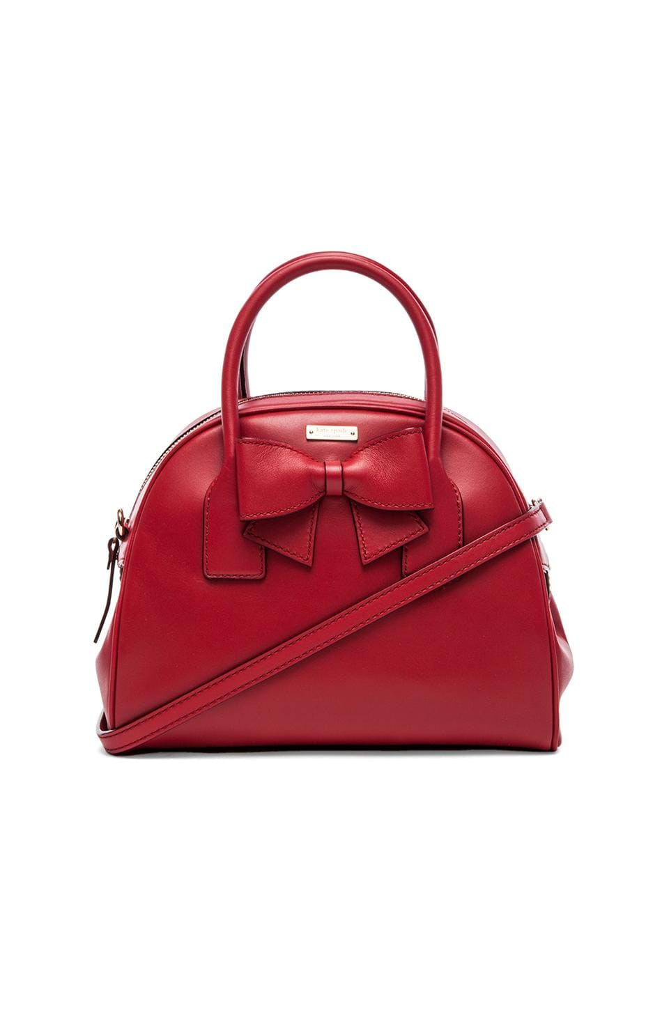 kate spade new york Small Lorin Crossbody in Dynasty Red