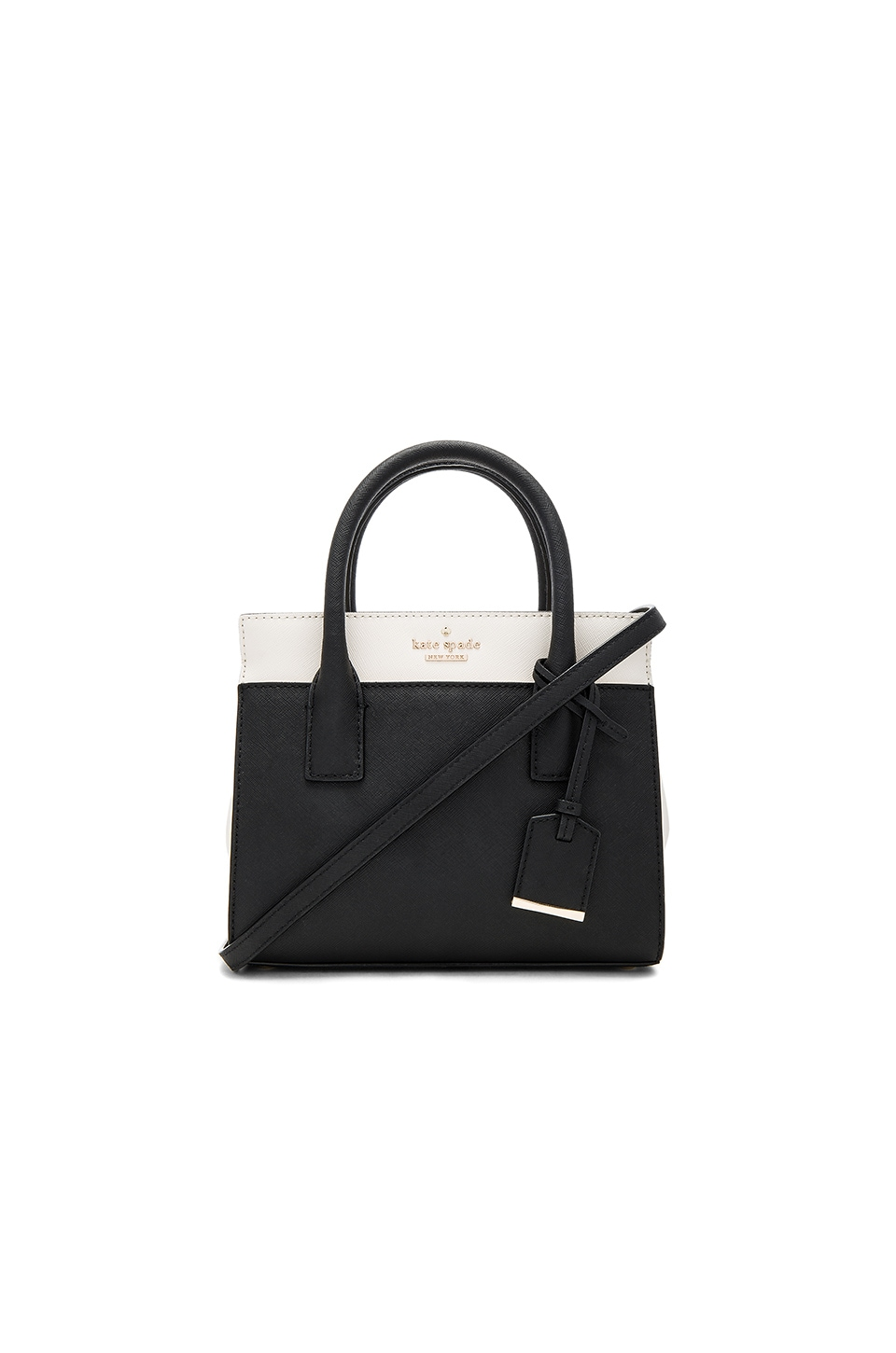 kate spade new york Mini Candace Bag in Black & Cement
