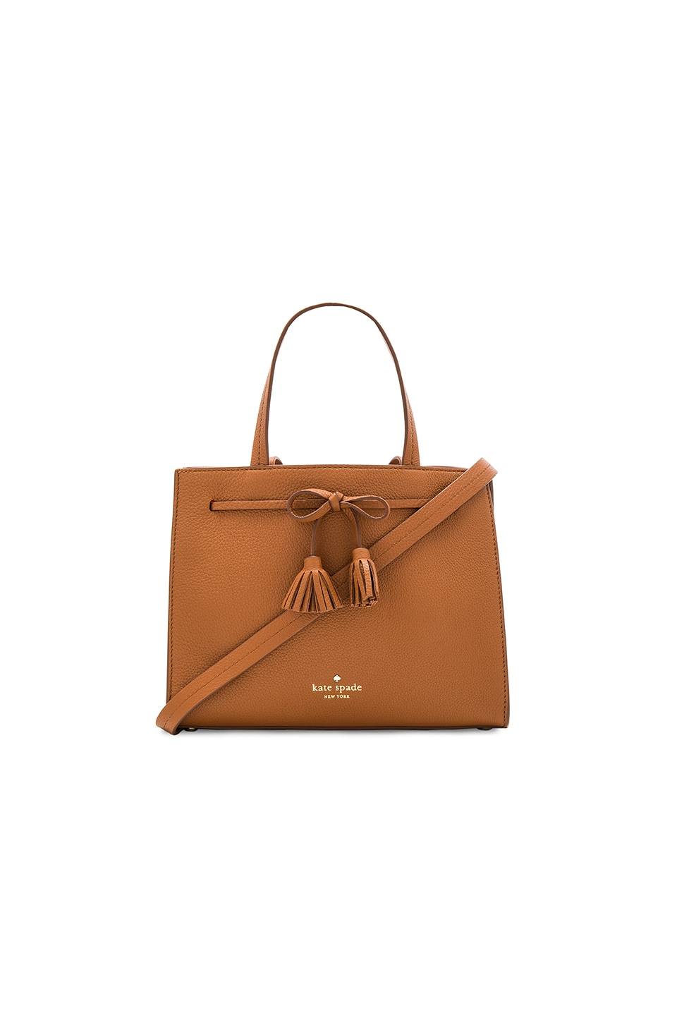 kate spade new york Small Isobel Tote in Warm Cognac & Saffron