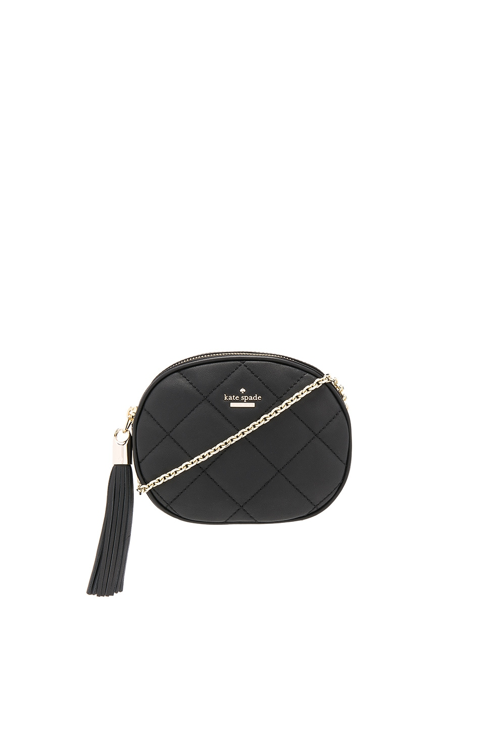 kate spade new york Tinley Crossbody in Black & Smokey Rose