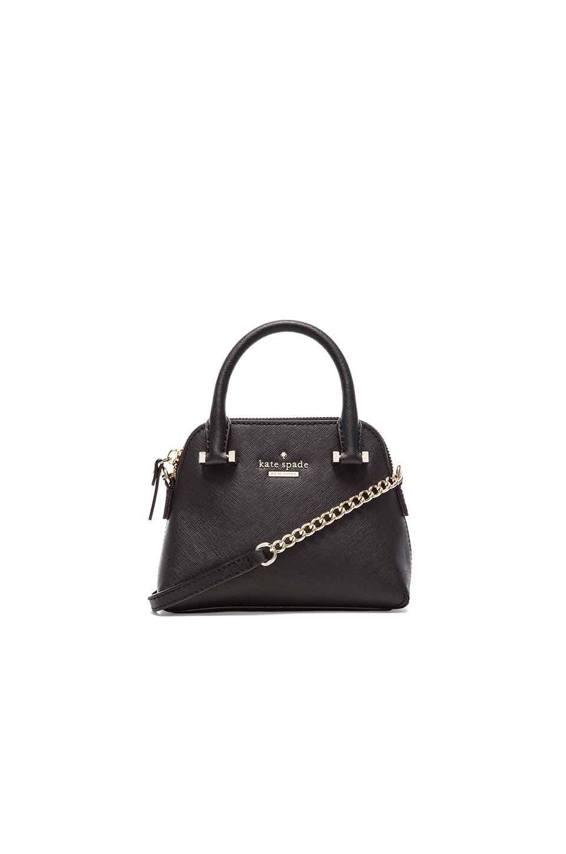 kate spade new york Mini Maise Crossbody Bag in Black