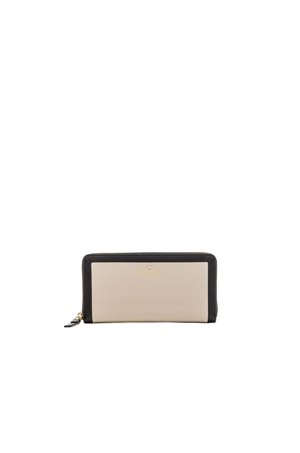 kate spade new york Lacey Wallet in Black & Pebble