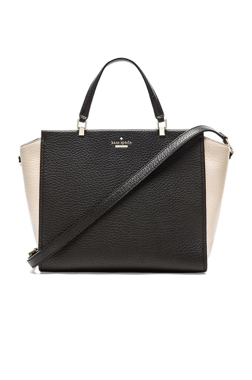 kate spade new york Hayden Shoulder Bag in Black & Pebble