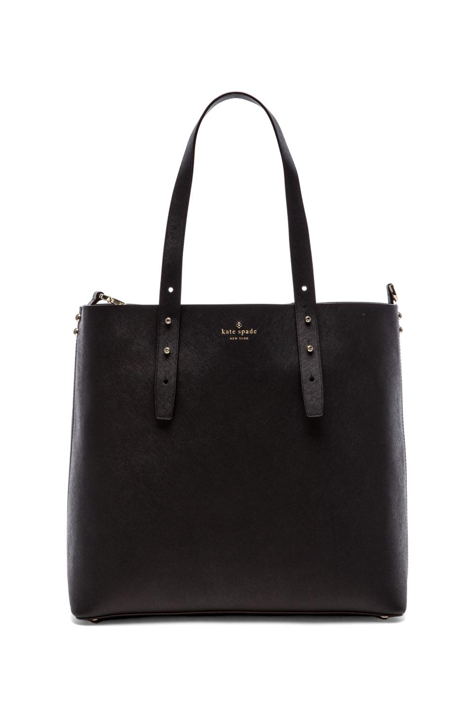 kate spade new york Lewis Tote in Black