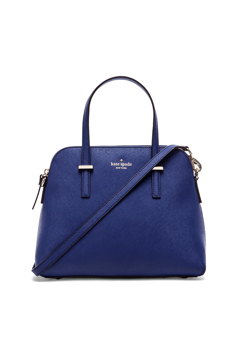 kate spade new york Maise Satchel in Emperor Blue