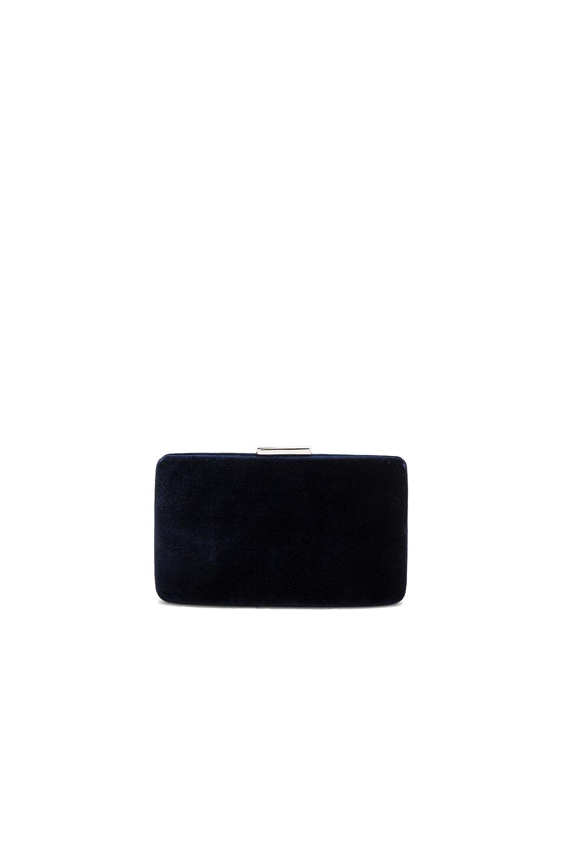 KAYU Velvet Clutch in Blue