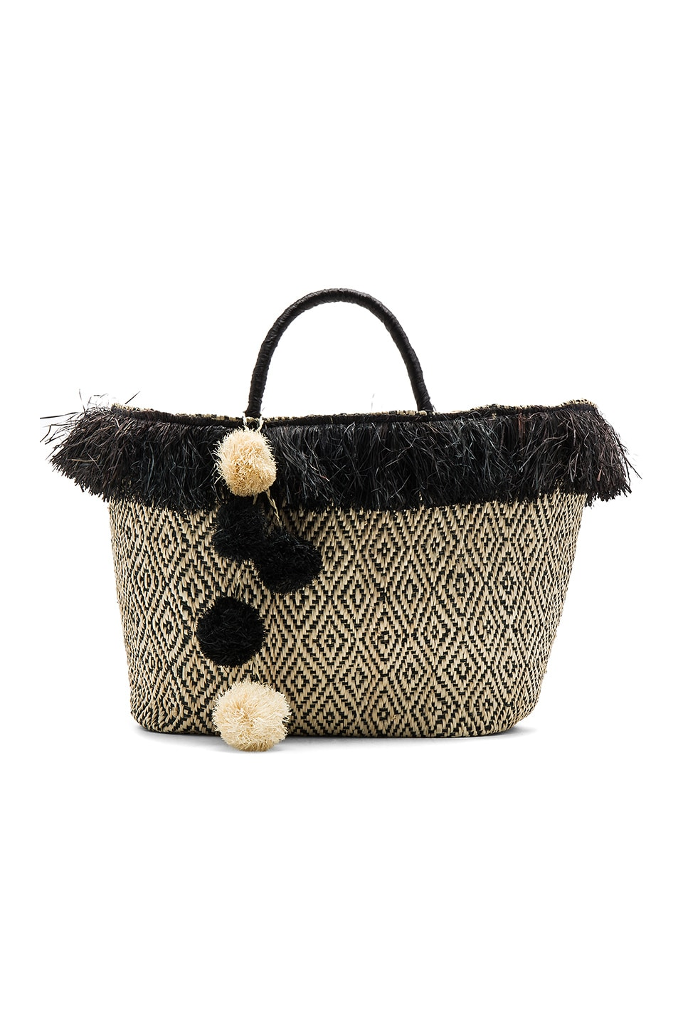 KAYU Kahuna Tote Bag in Black
