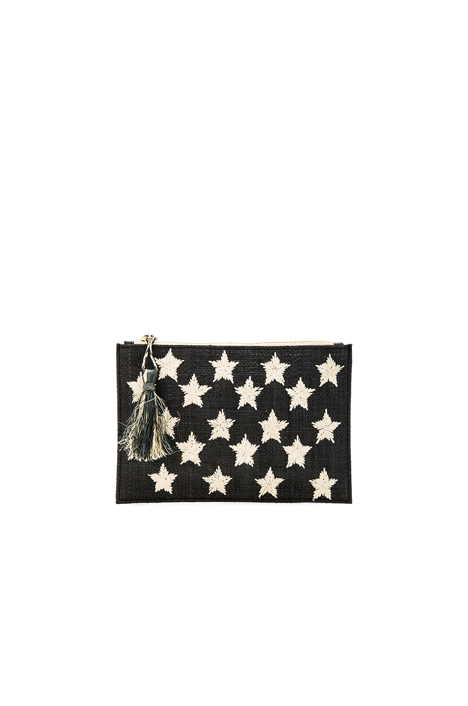 KAYU Star Clutch in Black