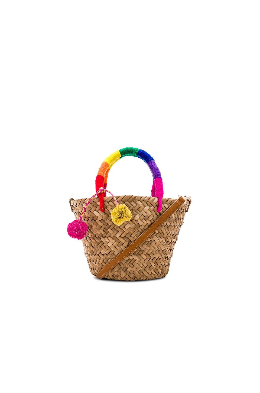 x REVOLVE Mini St Tropez Leather Strap Bag