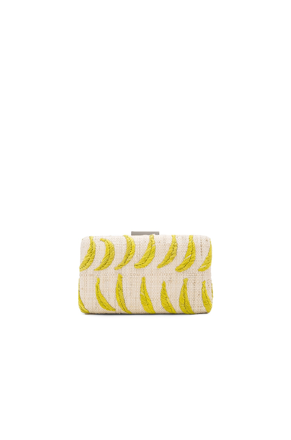 KAYU Ananas Clutch in Natural