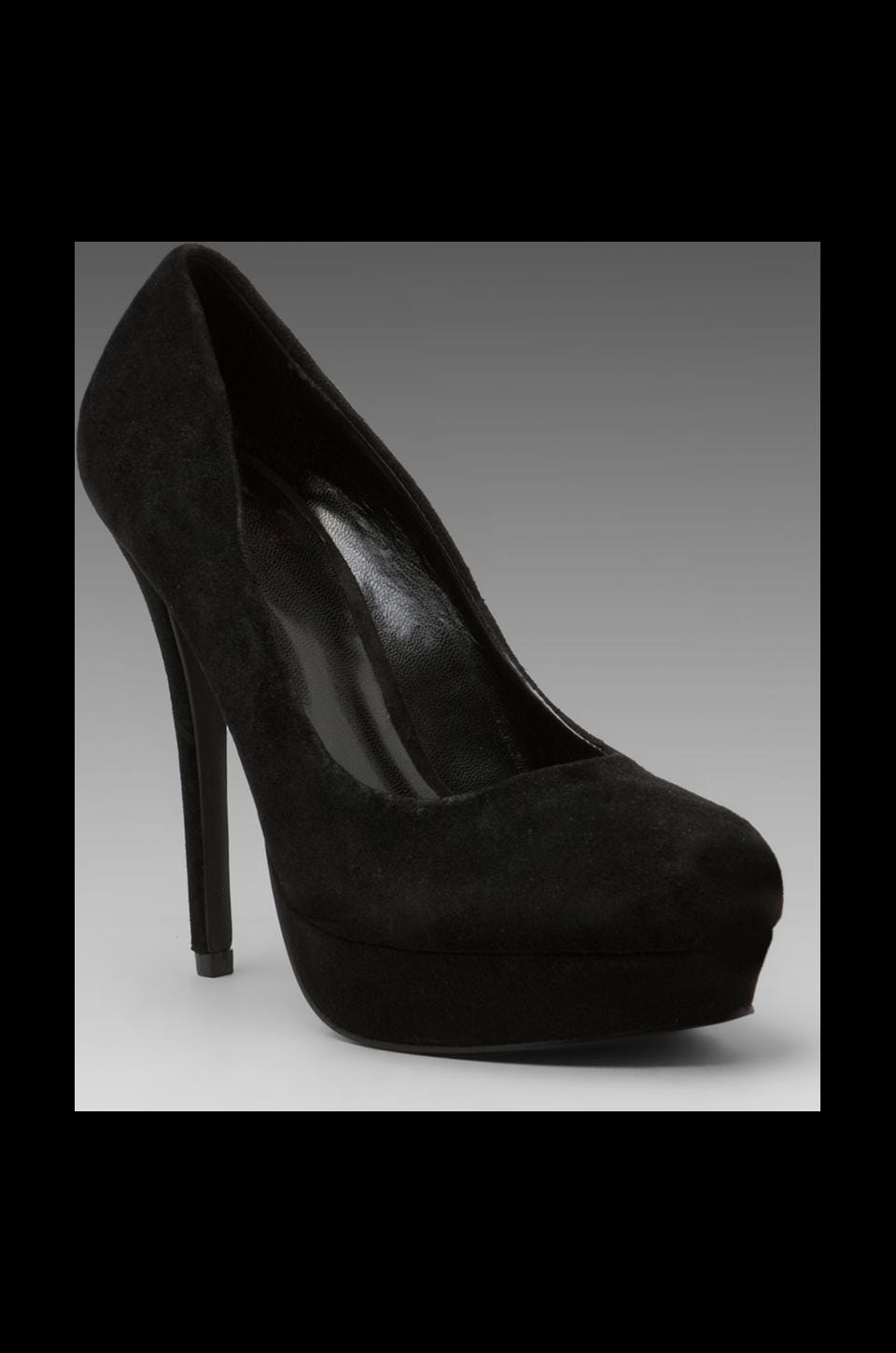 Kelsi Dagger Lizzy Pump Suede in Black