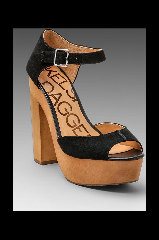 Kelsi Dagger Wynette Platform Heel in Black