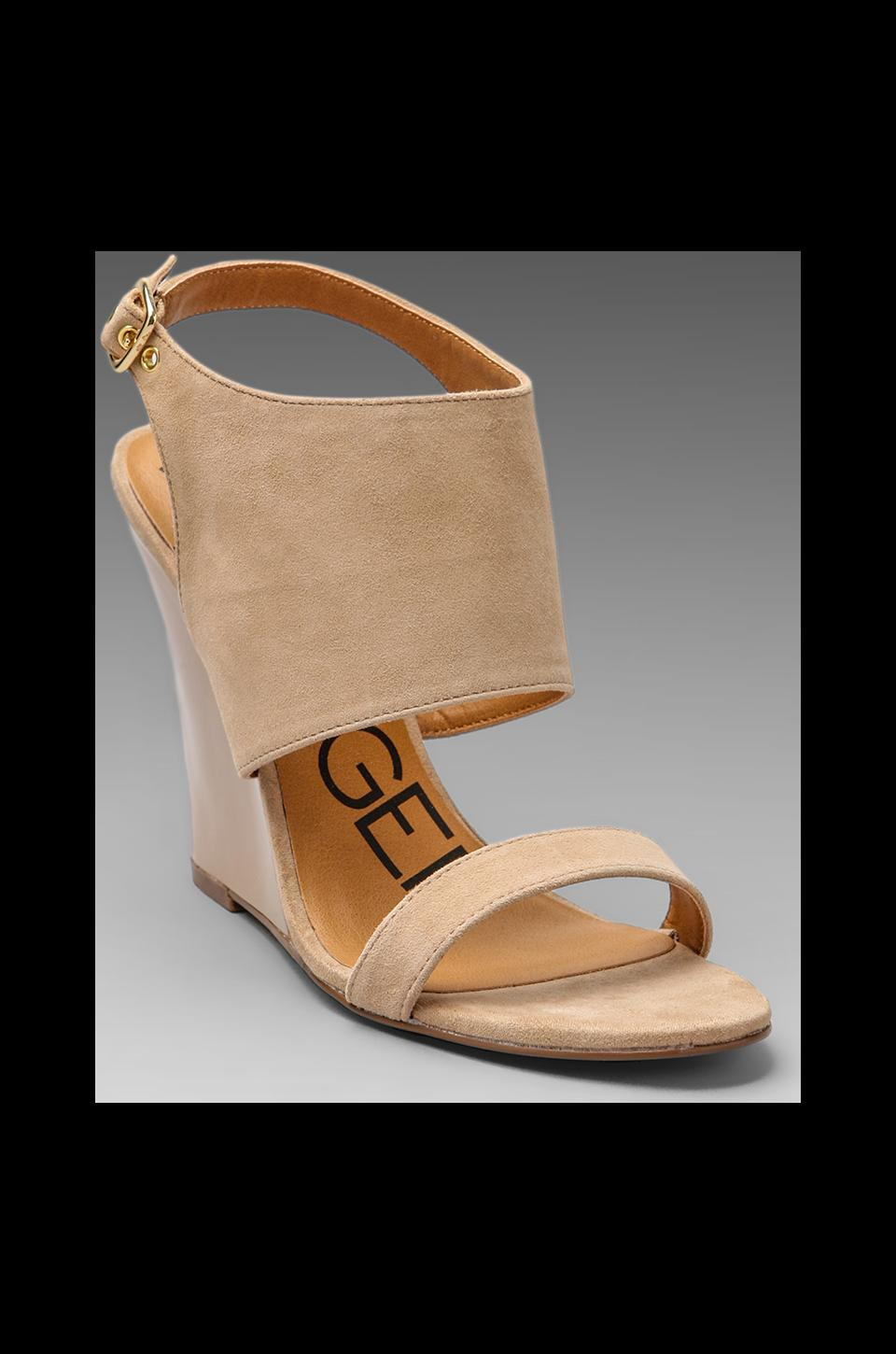 Kelsi Dagger Ellice Wedge Sandal in Beige
