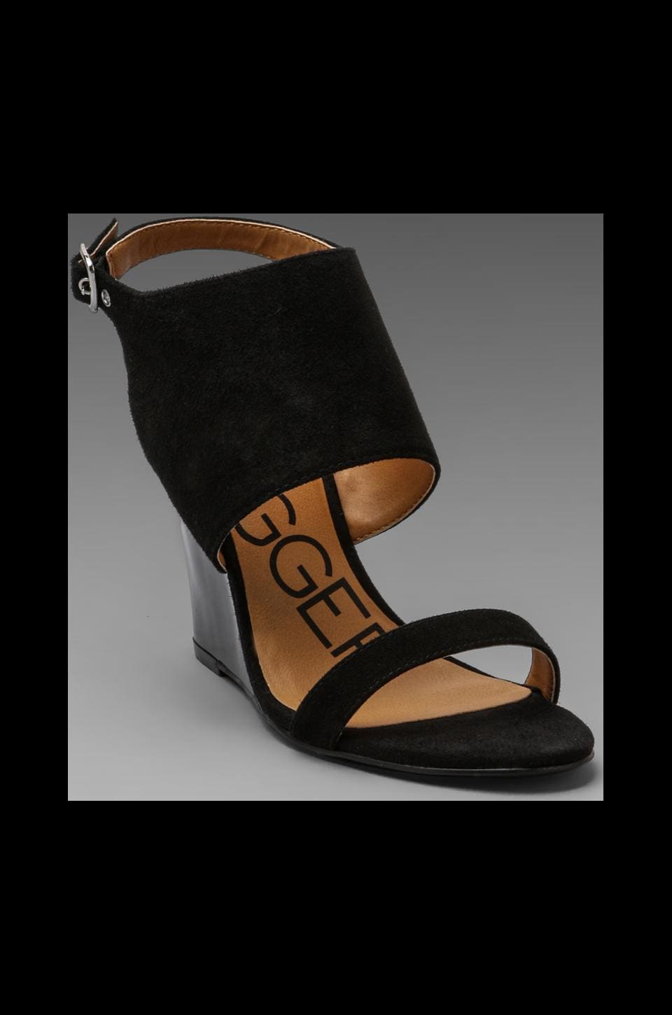 Kelsi Dagger Ellice Wedge Sandal in Black
