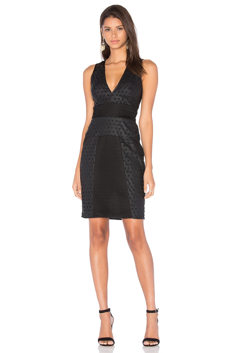 Grid Laser Cut Dress by KENDALL + KYLIE