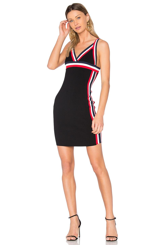 Rainbow Trim Dress by Kendall + Kylie