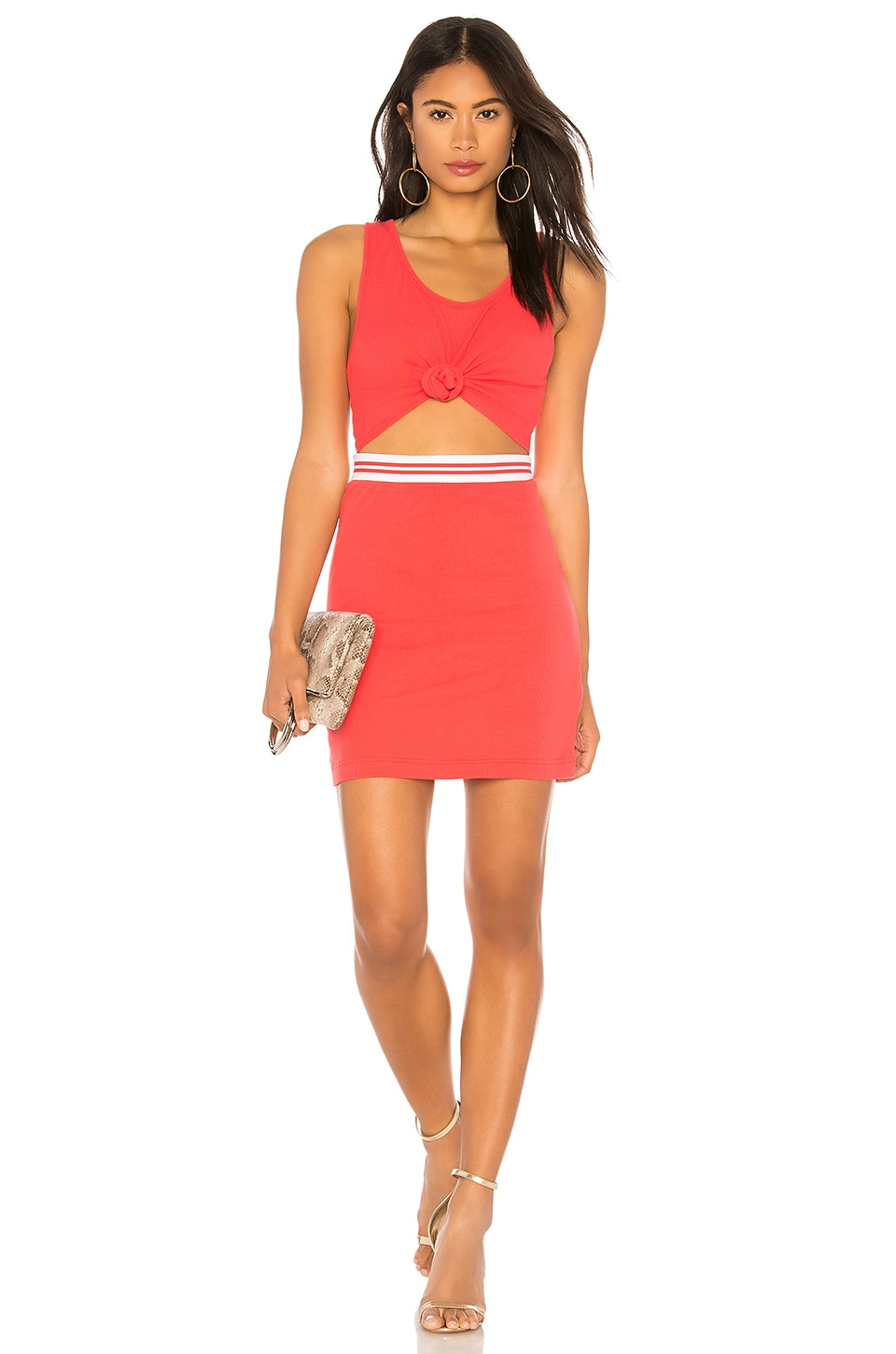KENDALL + KYLIE Cut Out Dress in Bittersweet