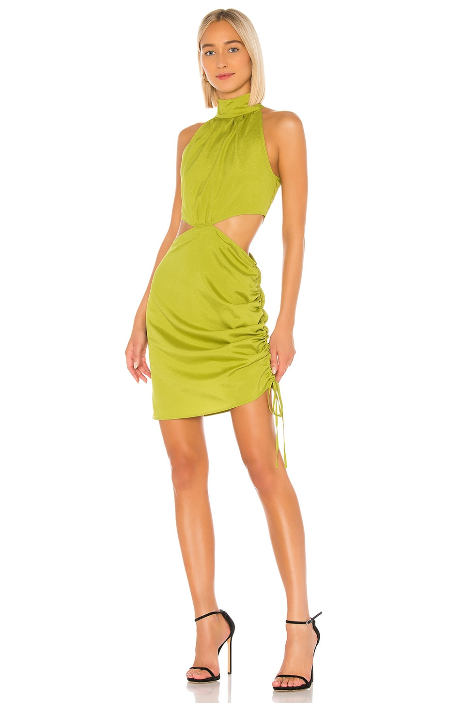 KENDALL + KYLIE Cobain Dress in Citrine