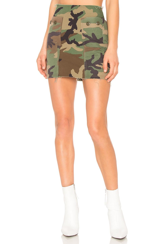 Repurposed Camo Skirt