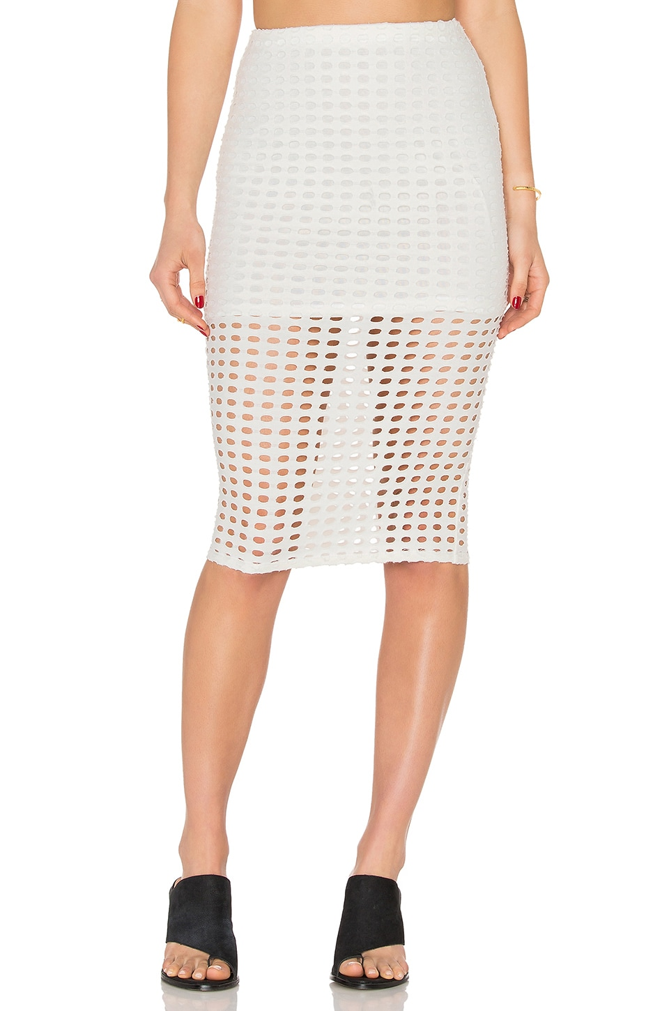 Laser Cut Out Skirt by KENDALL + KYLIE