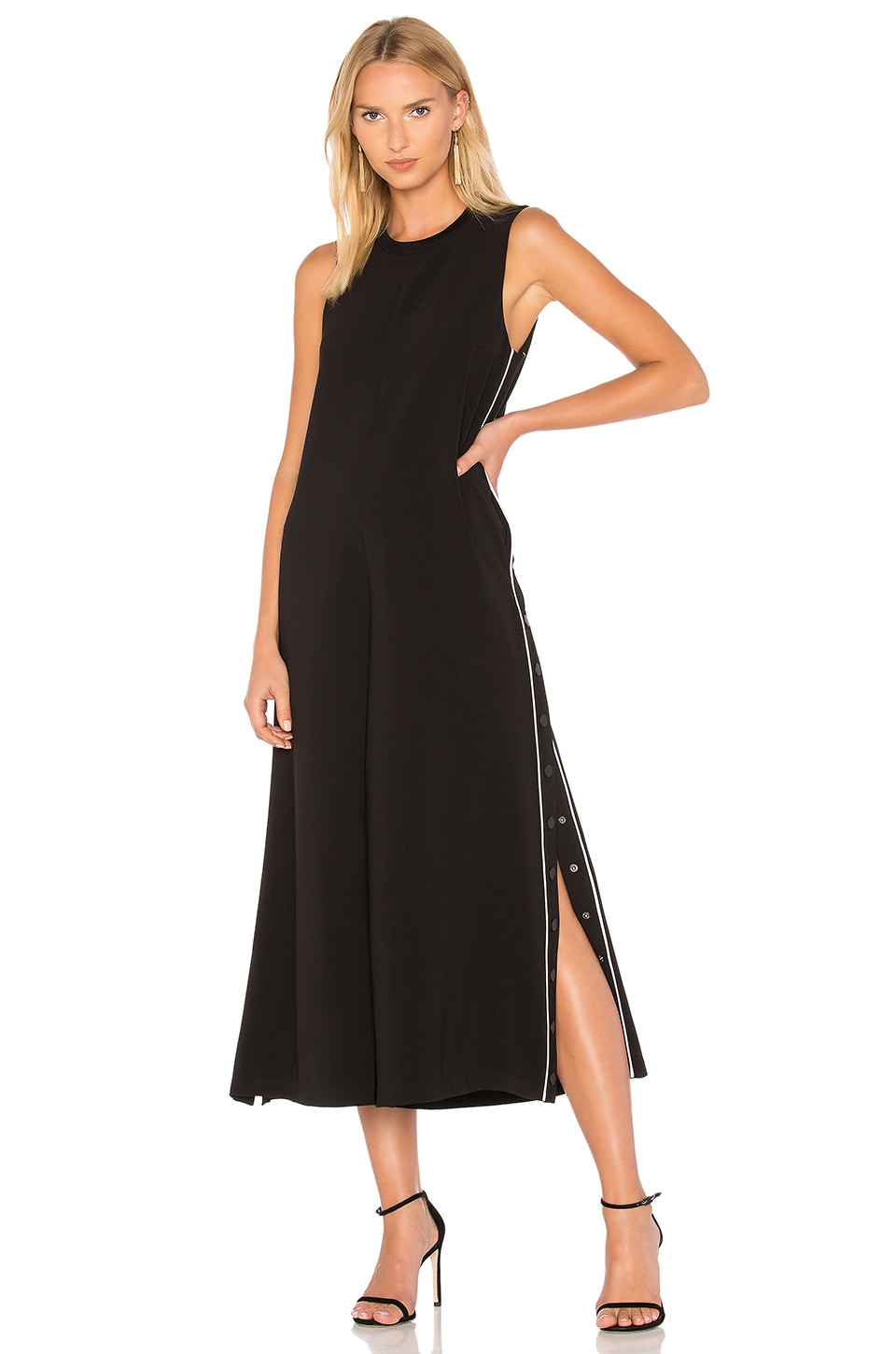 Wide Leg Snap Jumpsuit by KENDALL + KYLIE