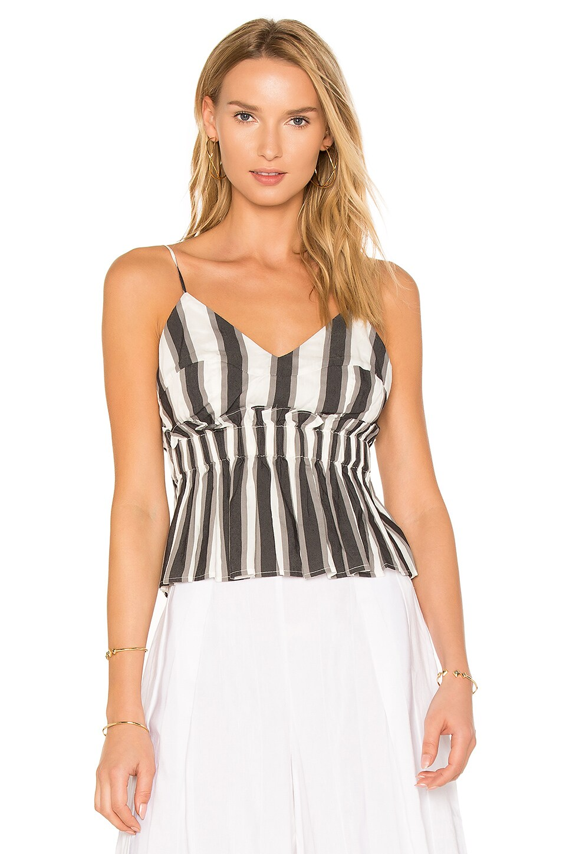 Stripe Peplum Cami by Kendall + Kylie