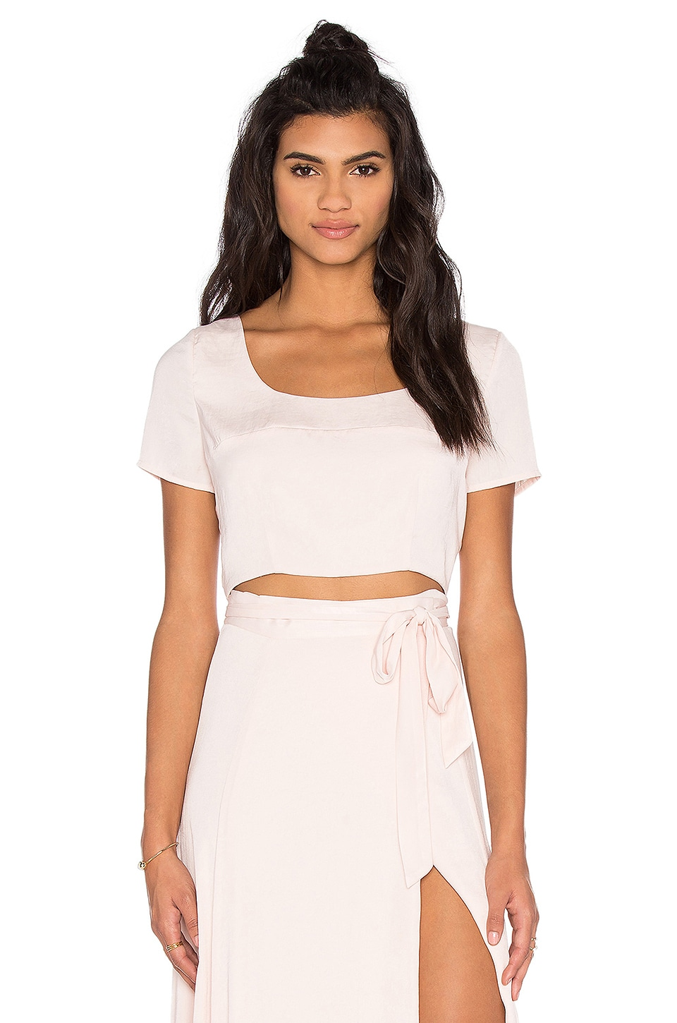 KENDALL + KYLIE Crop Top in Soft Pink