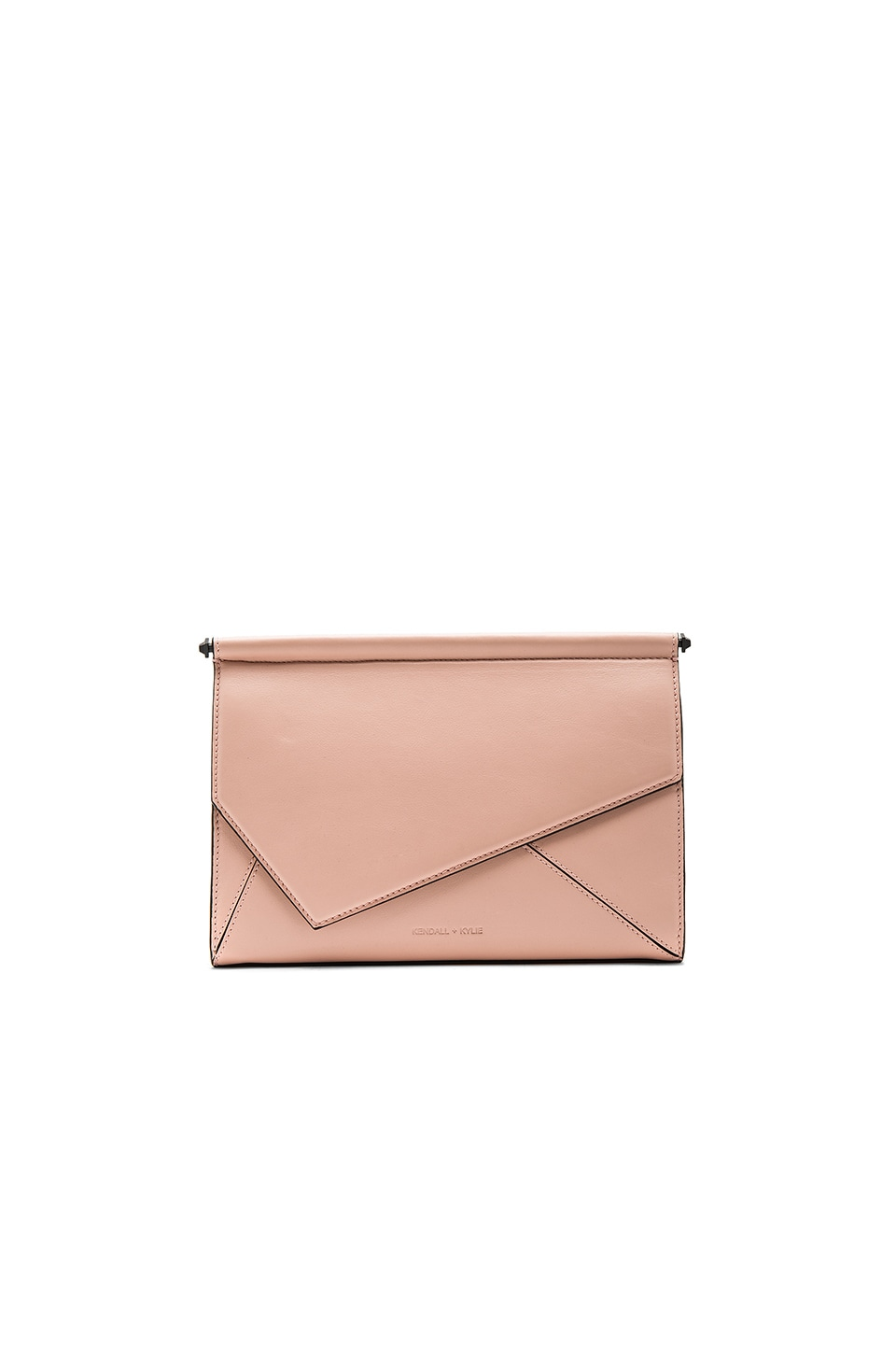 KENDALL + KYLIE Ginza Clutch in Rose Cloud
