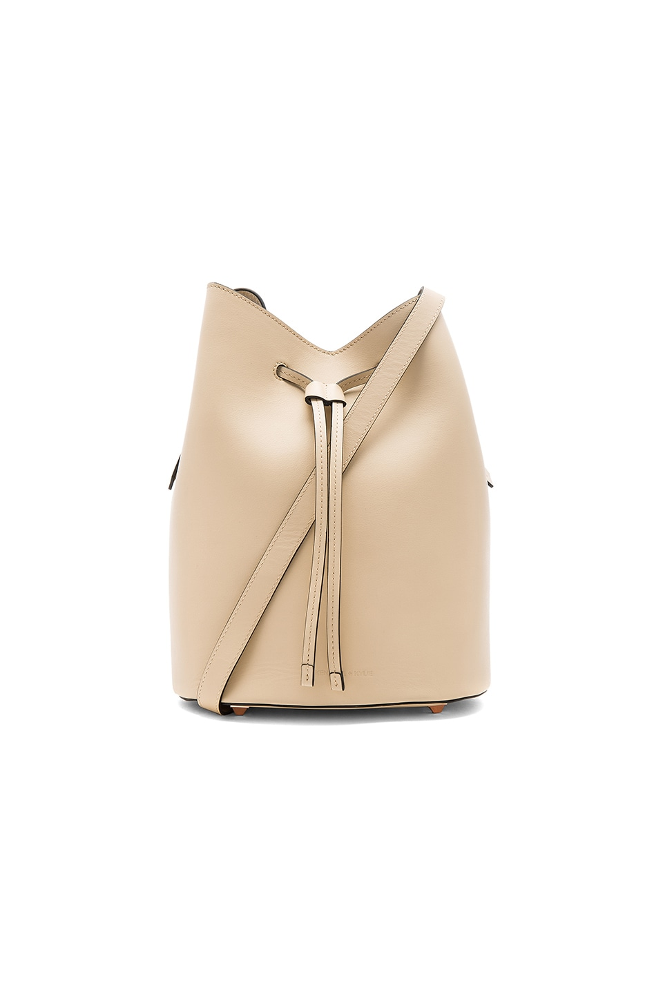 KENDALL + KYLIE Ladie Bucket Bag in Cream Tan