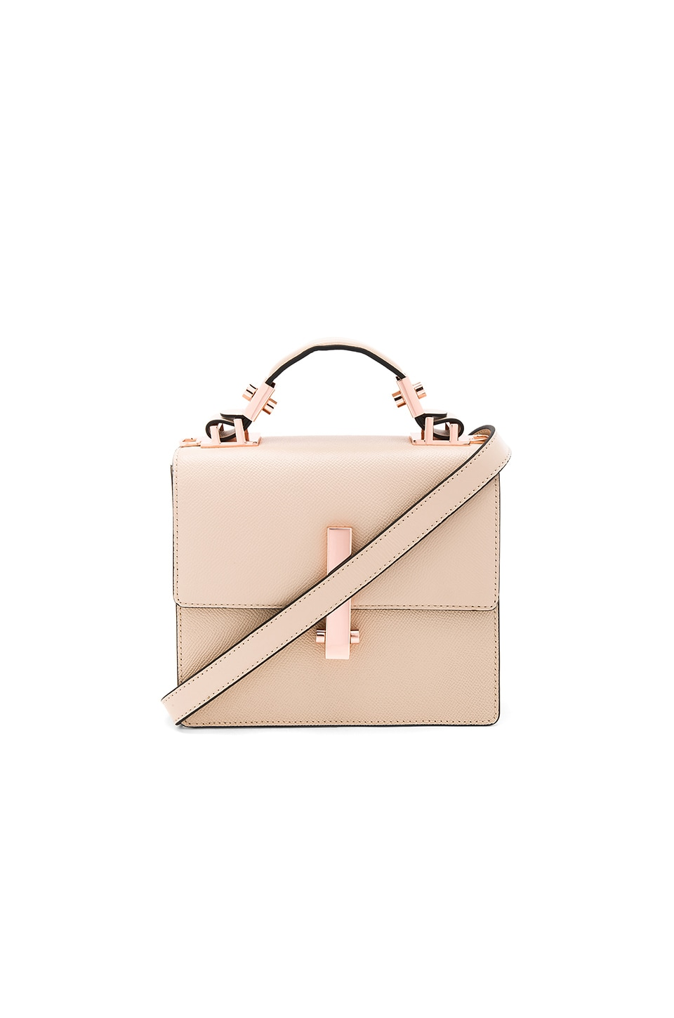 KENDALL + KYLIE Minato Mini Bag in Cream Tan