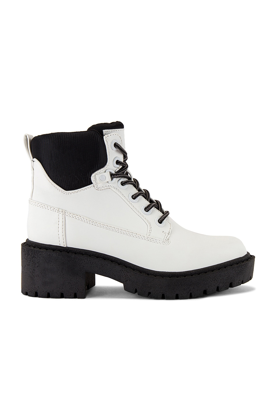 KENDALL + KYLIE Weston Boot in White & Black