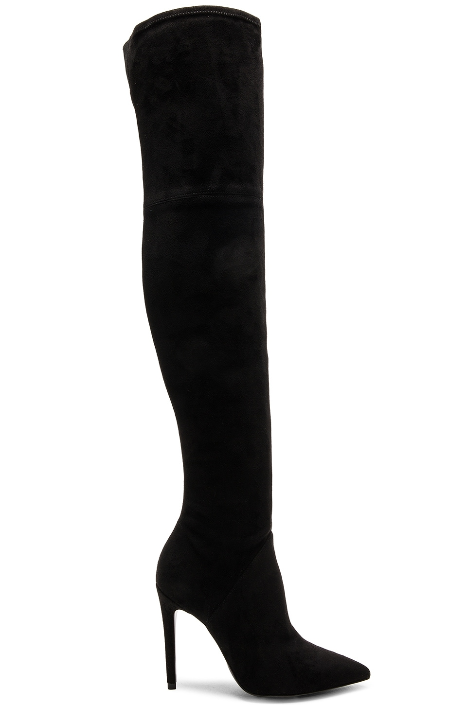 0dcddbe5e86 KENDALL + KYLIE Ayla 2 Boot in Black Suede