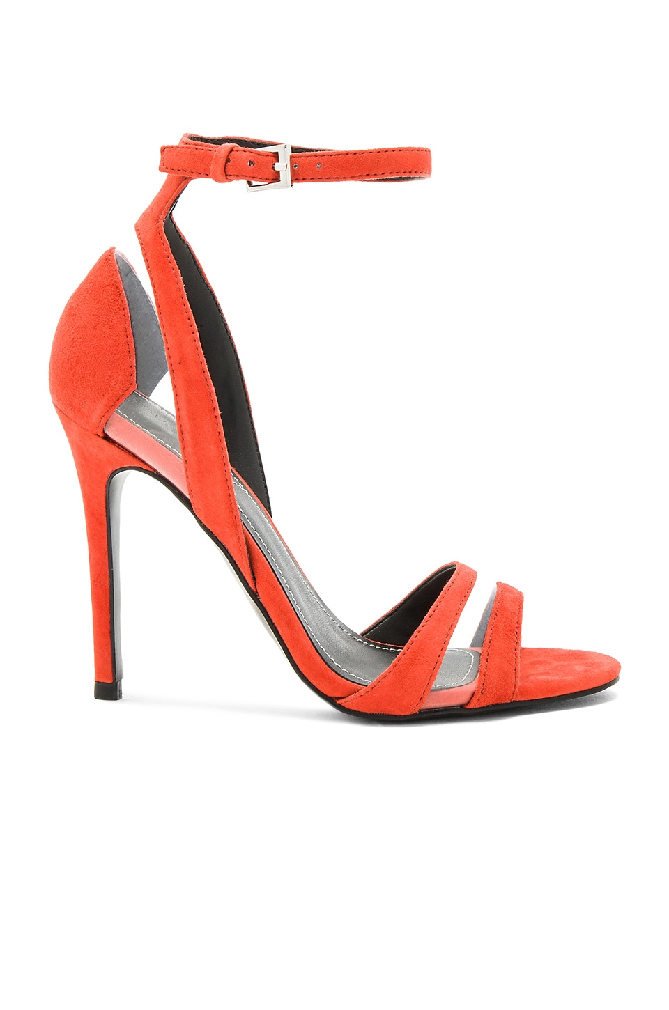 KENDALL + KYLIE Goldie Heel in Bright Coral