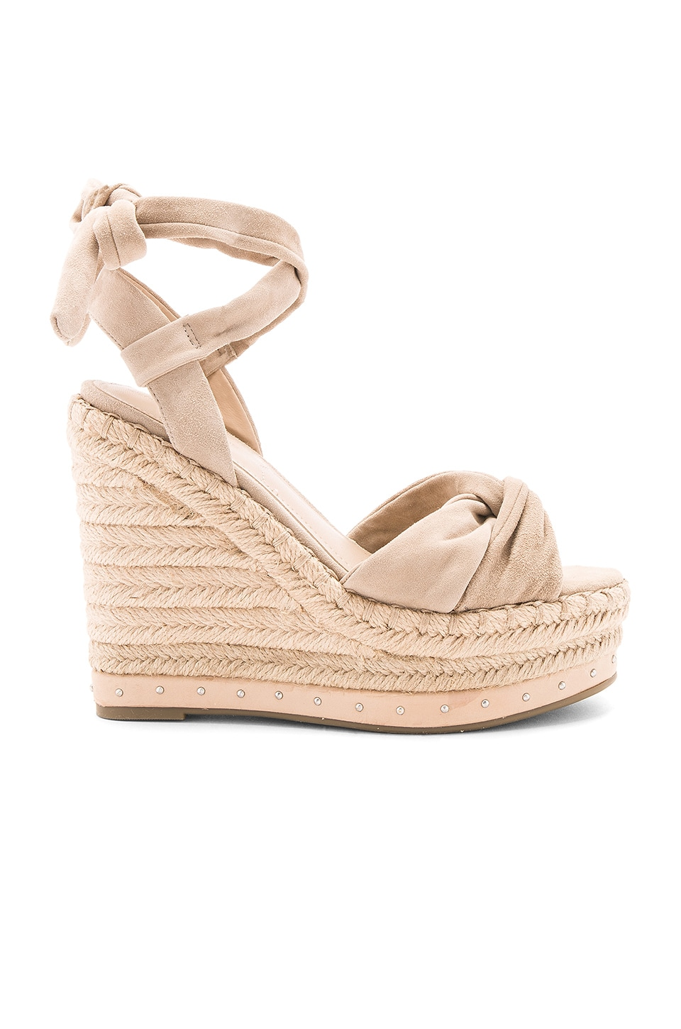 KENDALL + KYLIE Grayce Wedge in Sand
