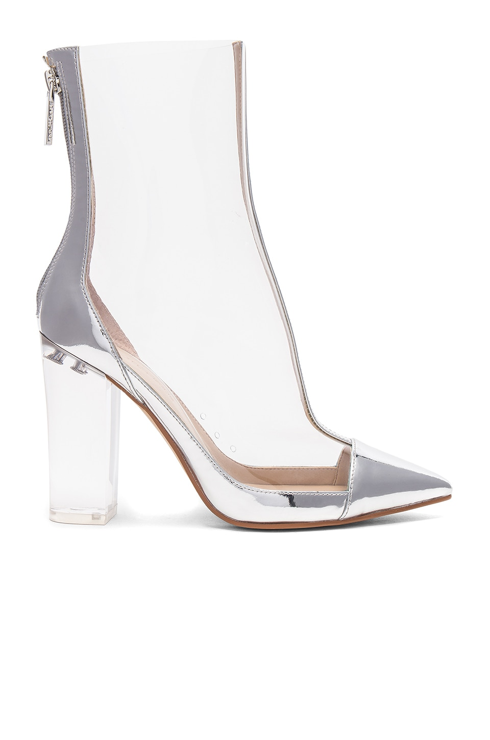 KENDALL + KYLIE Haven Bootie in Silver